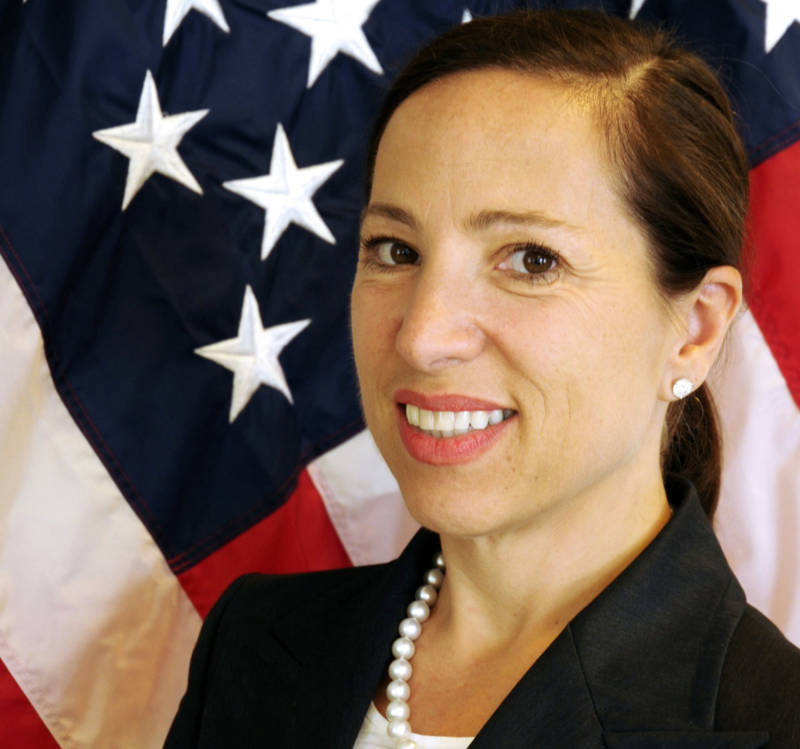 Eleni Kounalakis served as U.S. ambassador to Hungary under the Obama administration. She's running for lieutenant governor of California.