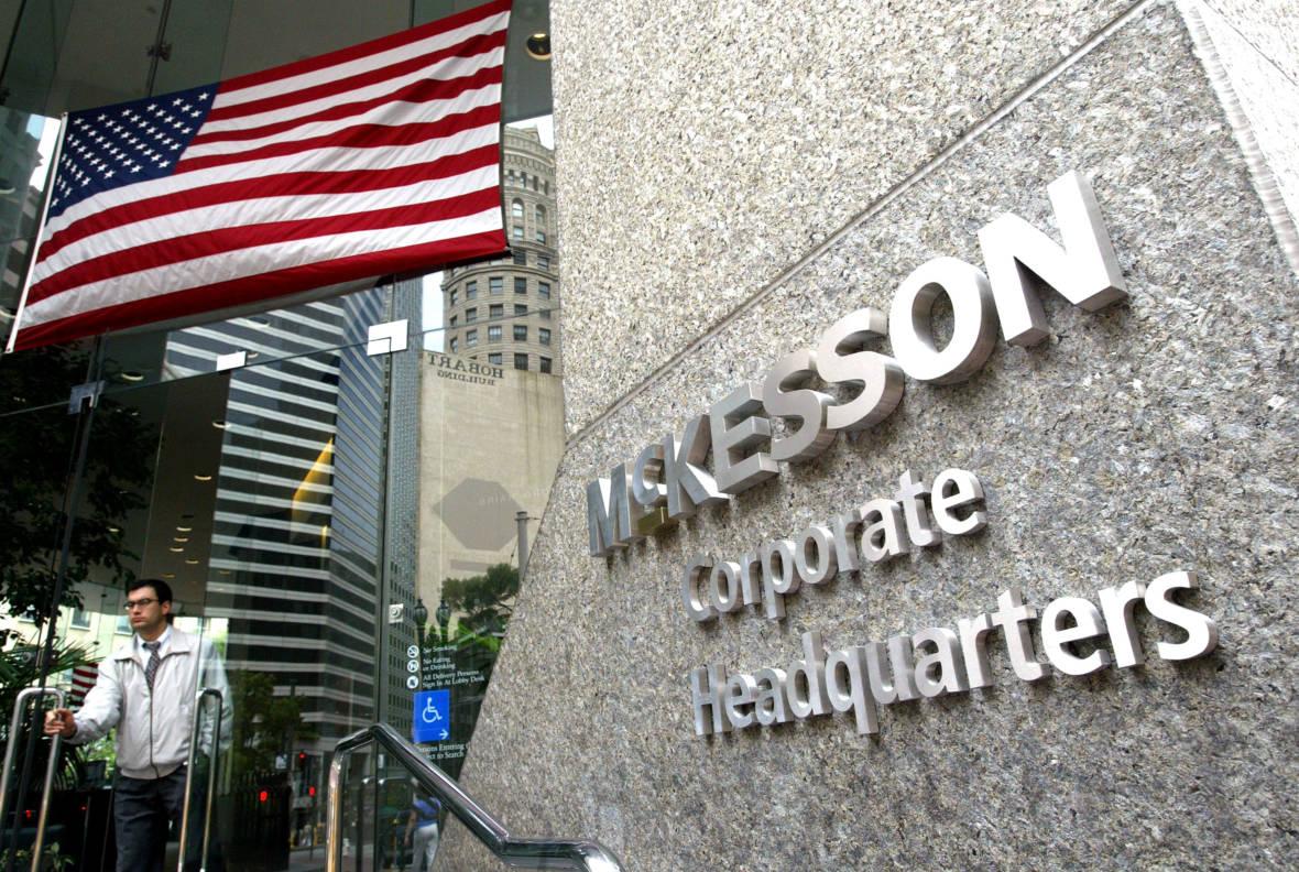 S.F.-Based McKesson Corp. Subpoenaed in Opioid Probe