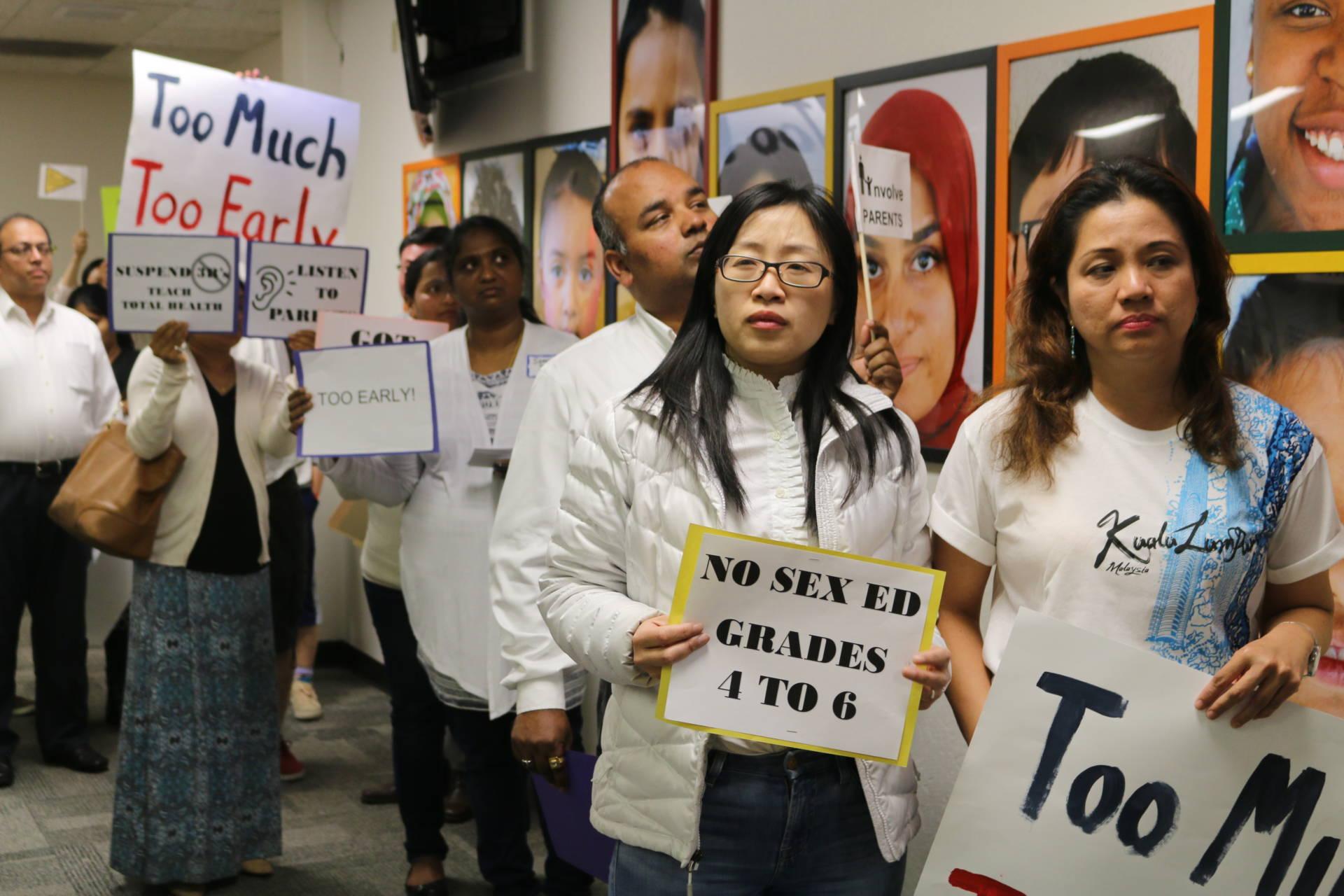 How Far Should Parents Dictate School Sex Ed? Debate Roils Bay Area  Community