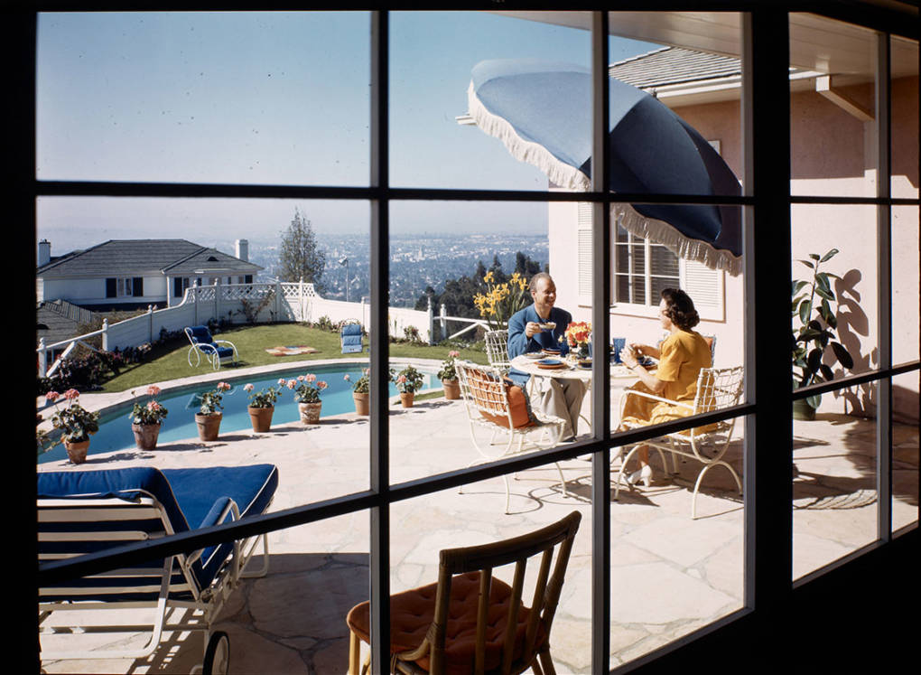 The same beautiful weather remains as it did in the 1950s. But access to the California Dream is being choked off. Maynard L. Parker/Courtesy of The Huntington Library, San Marino, California