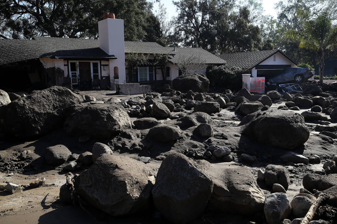Mudslide Fears Prompt Mandatory Evacuations for Montecito, Other Burn Areas
