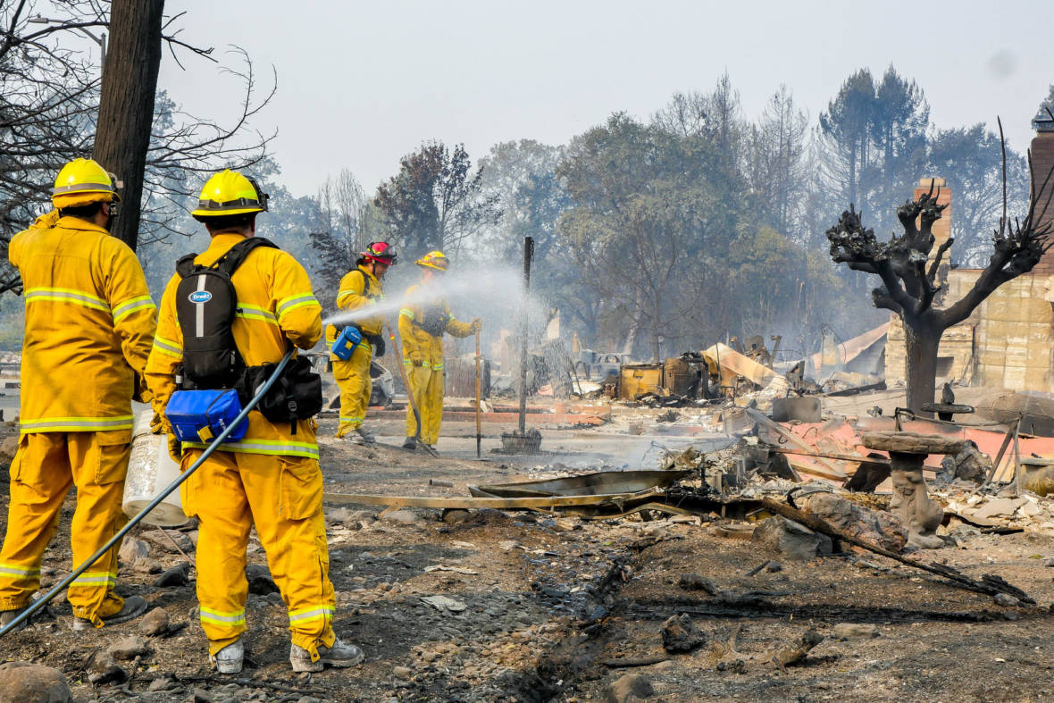 California Spent Nearly $1.8 Billion Fighting Major 2017 Wildfires