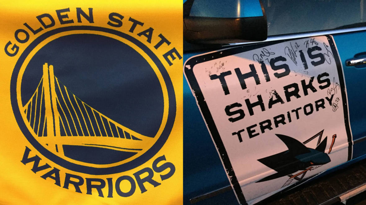 Name That Team! How the Sharks and the Golden State Warriors Got Their Names