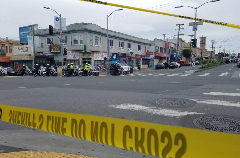 S.F. Excelsior District Shootout Leaves Suspect Dead, Officer and Four Others Wounded