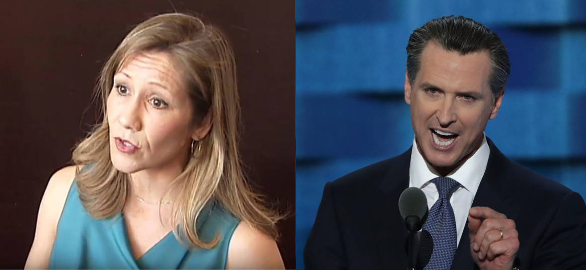 Amanda Renteria Calls on Gavin Newsom to Step Down Over Decade-Old Sex Scandal