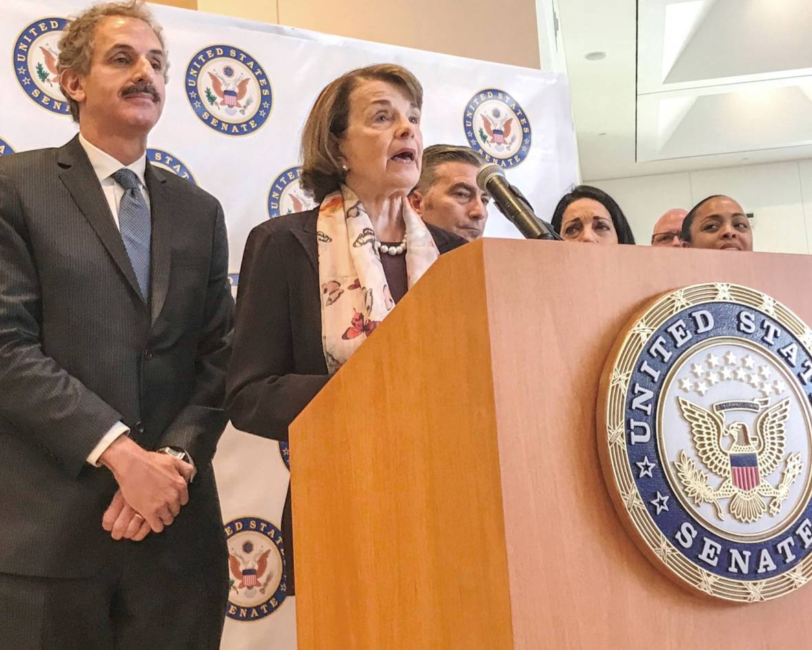 Sen. Feinstein Lacks Votes But Vows to Press for Assault Weapons Ban