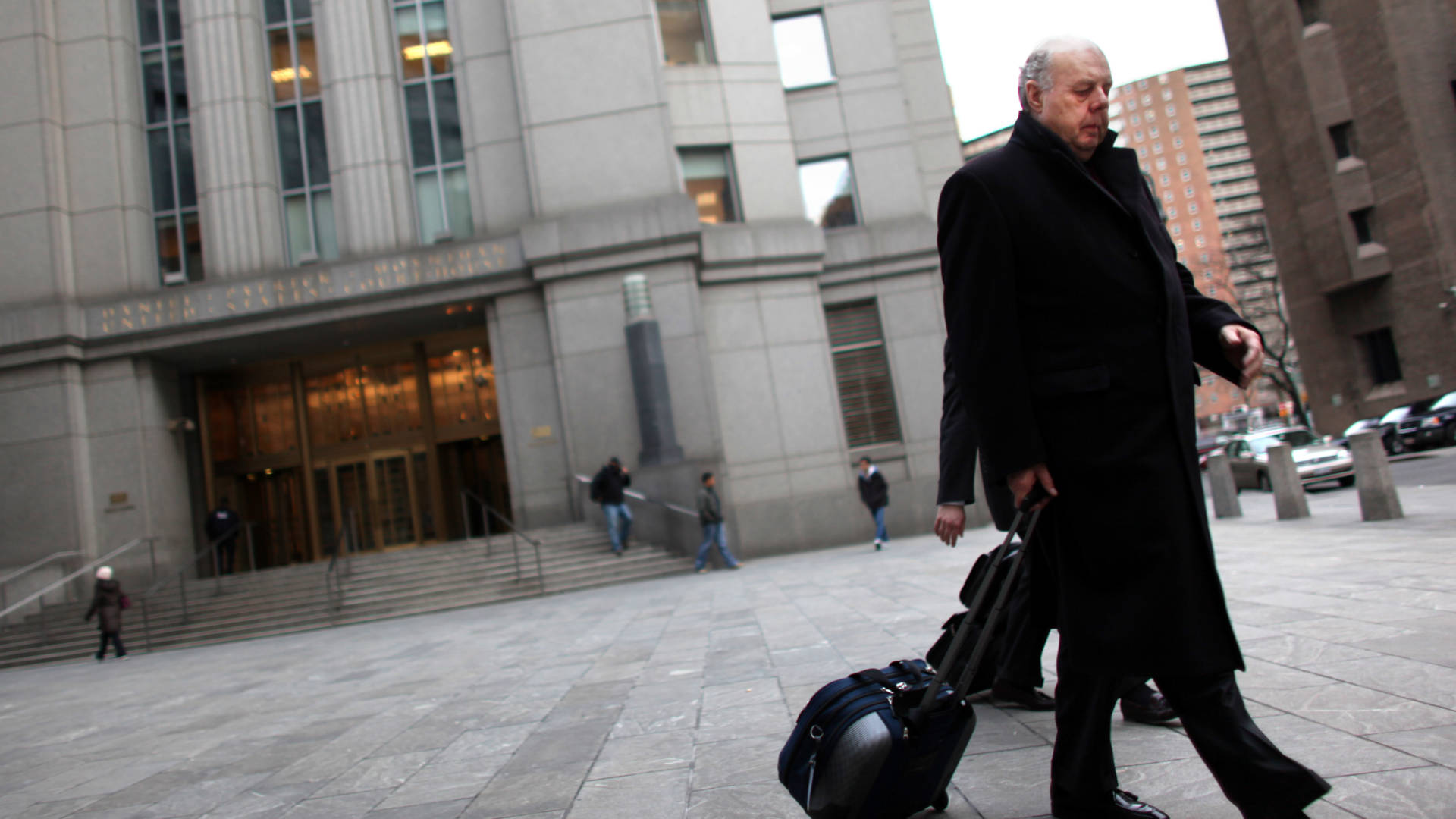 John Dowd, seen in New York City in 2011, has resigned from the Trump team. Yana Paskova/Getty Images