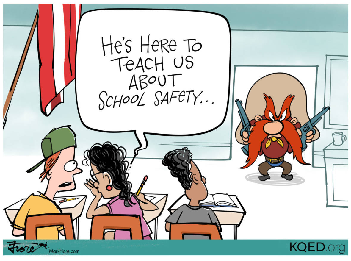 The Trouble With Arming Teachers