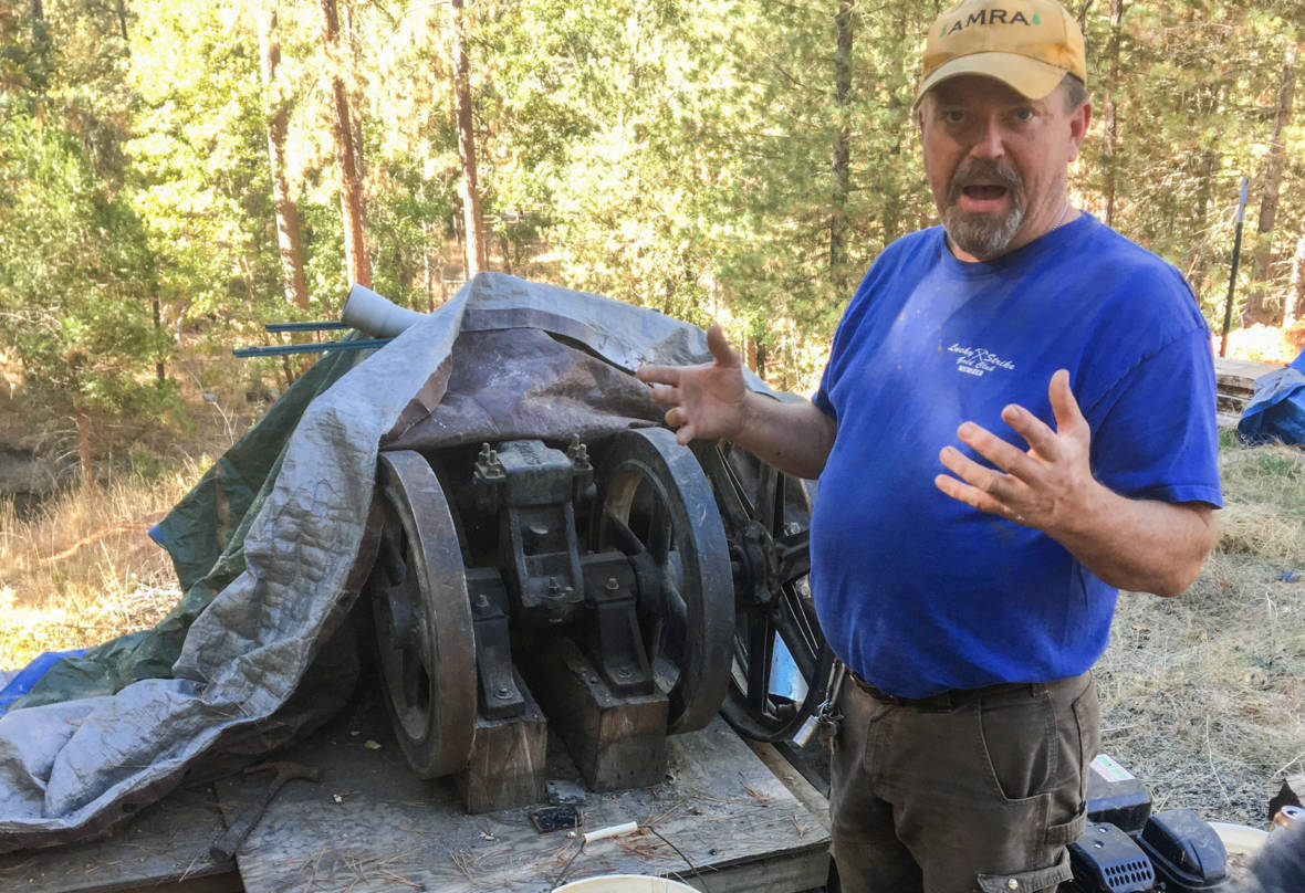A Latter-Day Miner Still Chasing The Gold Rush Dream