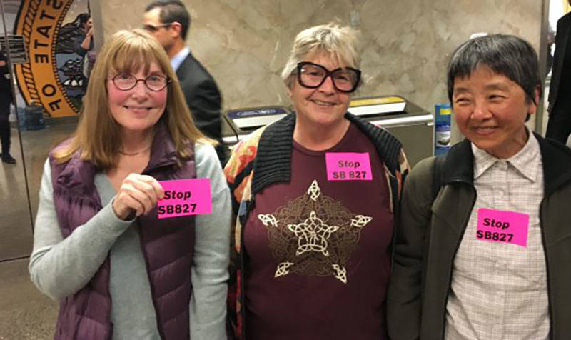 Opponents came from San Francisco and its environs to lobby against the bill—and the gentrification they feared it would bring.