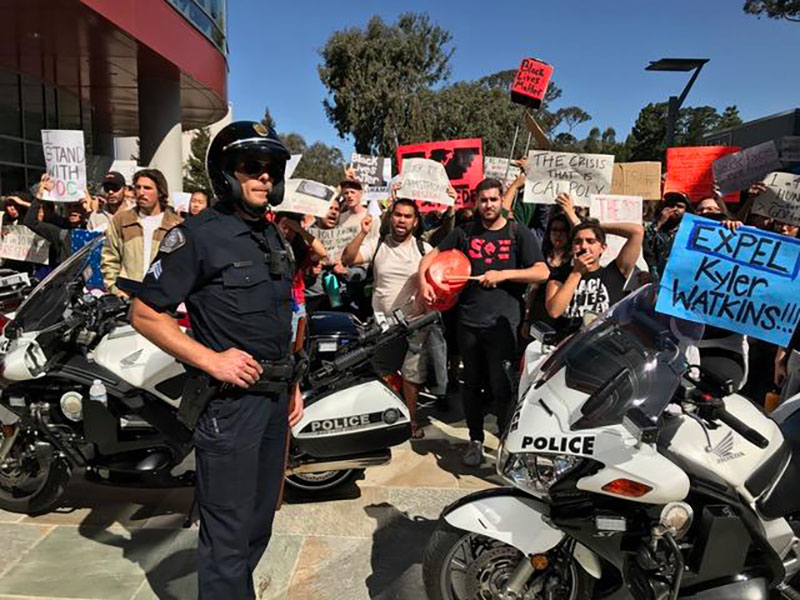 Cal Poly Police Prepare for Milo Yiannopoulos' Return Amid Heightened Racial Tensions