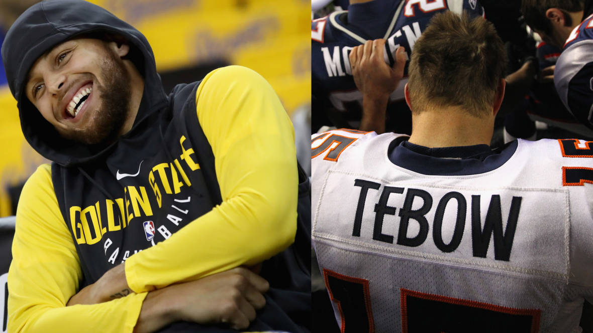 Why Isn't Steph Curry's Religion as Polarizing as Tim Tebow's?