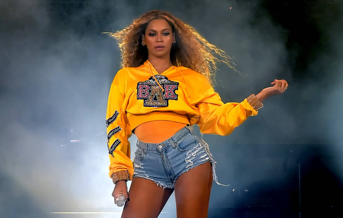 Beyonce Knowles performs onstage during 2018 Coachella Valley Music And Arts Festival Weekend 1 at the Empire Polo Field on April 14, 2018 in Indio, California.  Kevin Winter/Getty Images for Coachella