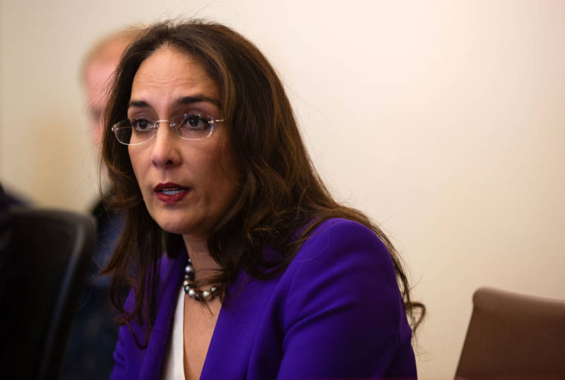 Harmeet Dhillon, trial lawyer and member of the Republican National Committee. Rather than compromise with Democrats, she says GOP state lawmakers should heighten their opposition.
