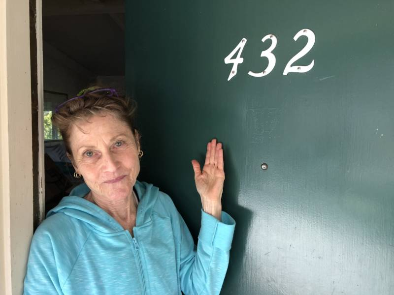 Bart Levenson will soon been checking out of room 432 at the defunct Konocti Harbor Resort and Spa where she's been staying since her home burned down in the 2015 Valley Fire.