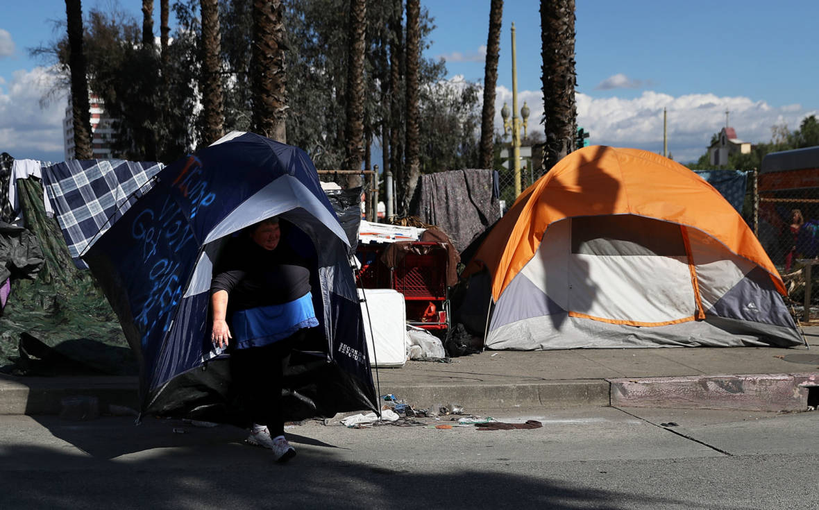 L.A. Mayor's New Homelessness Plan: More Shelters, More Enforcement