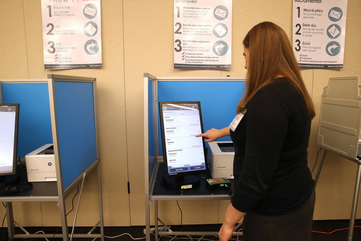 Goodbye, Neighborhood Polling Places, 5 Counties Switch to Mega-Vote Centers