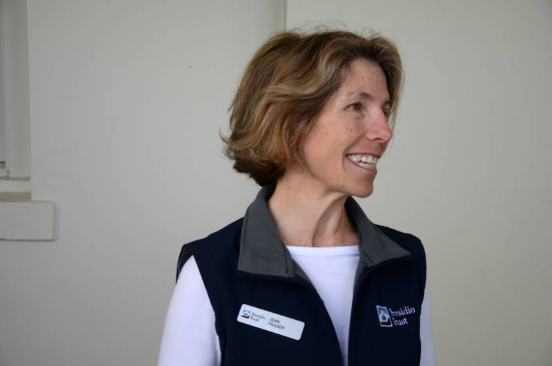 Jean Fraser is the CEO of the Presidio Trust, which is looking for someone to renovate Fort Winfield Scott.
