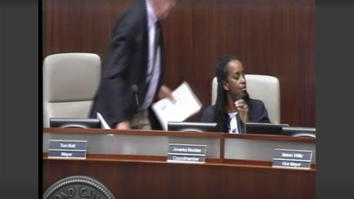 A Political Spat Boils Over in Richmond, With Angry Mayor Walking Out of Council Meeting