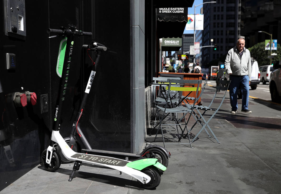 What Electric Scooters and Shopping Carts May Soon Have in Common