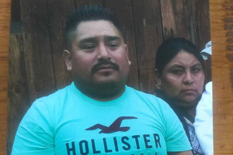 Santos Hilario Garcia and Marcelina Garcia Perfecto died in Delano on March 13 after flipping their car in an attempt to flee ICE agents. This photo was featured on a GoFundMe webpage to raise funds for the couple's children.