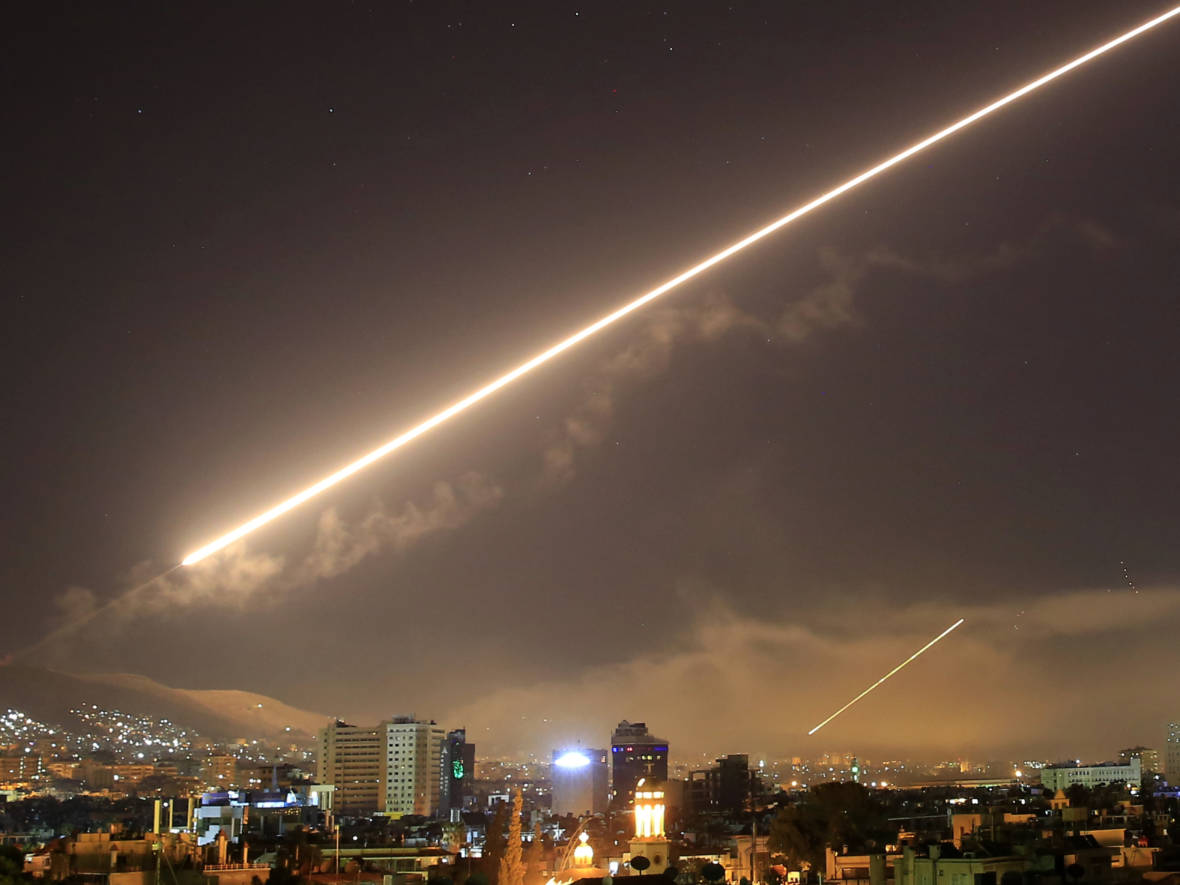 Debates Ensue After Western Missiles Hit Syria