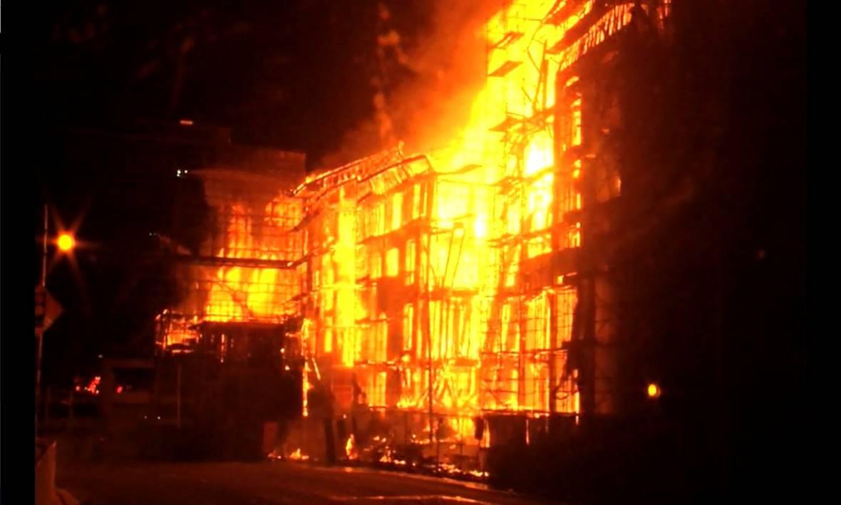 3-Alarm Fire in Concord Destroys Apartment Building Under Construction
