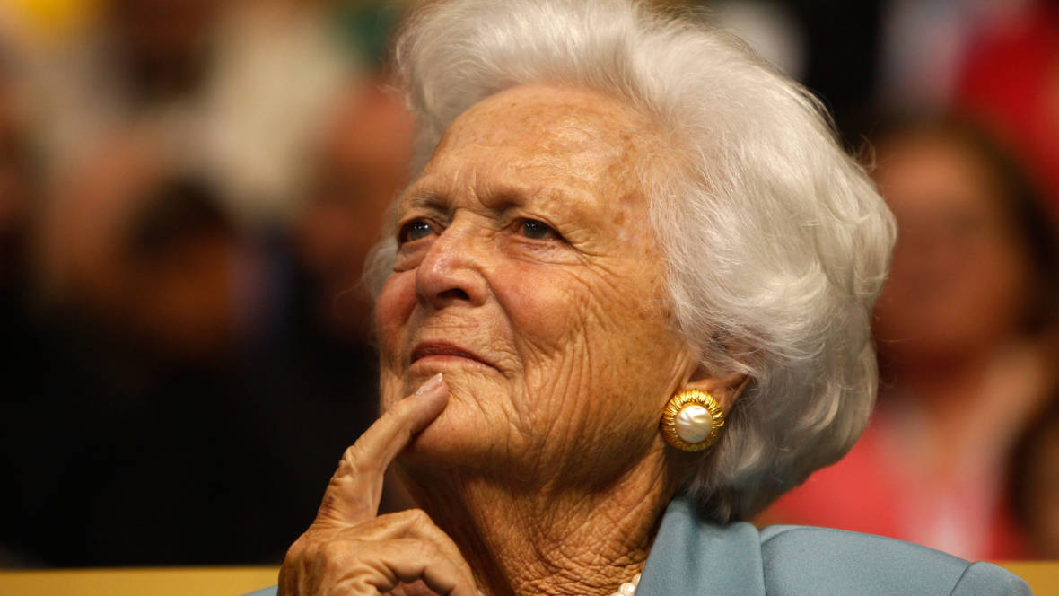 Barbara Bush Remembered in Her Own, Never-Minced, Words