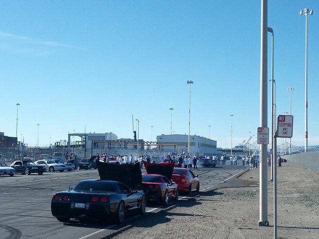 Sideshow at the Port of Oakland