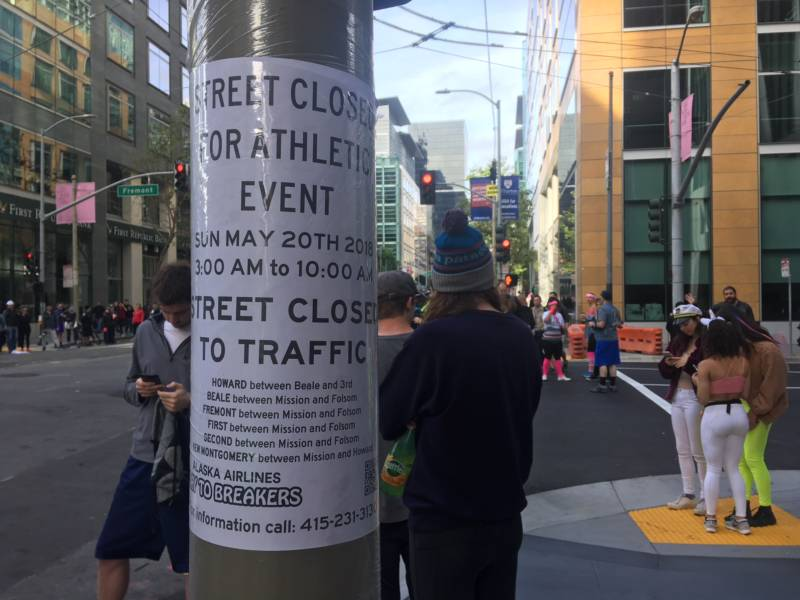 Spanning San Francisco, from the bay to the beach, the annual race requires road closures and transit reroutes.