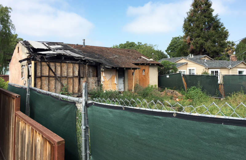 San Jose Realtor Holly Barr sold this burned-out home for more than $900,000.