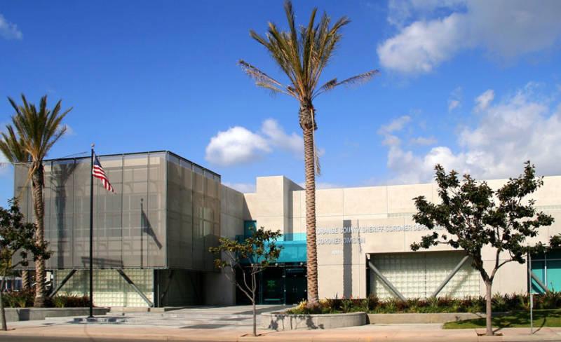 The California Coroner's Training Facility in Orange County.