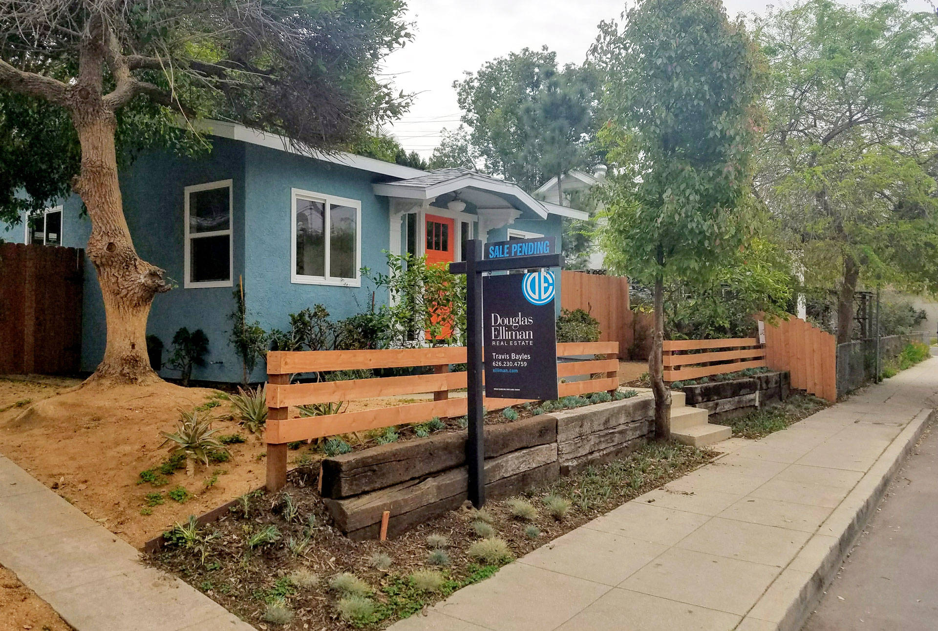 This 725 square-foot home in Los Angeles recently sold for more than $700,000. Adriene Hill/KPCC