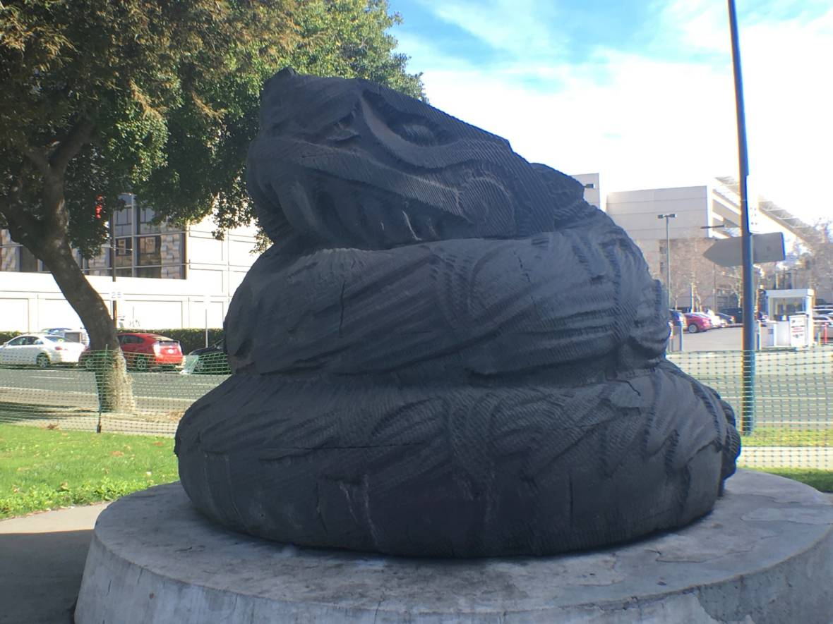 The Serpent Statue in San Jose That People Think Is Something Else