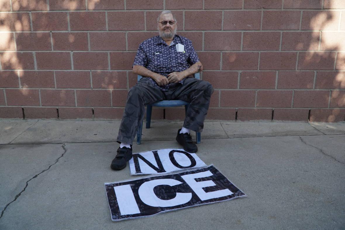 Meet L.A.'s 'No ICE' Man