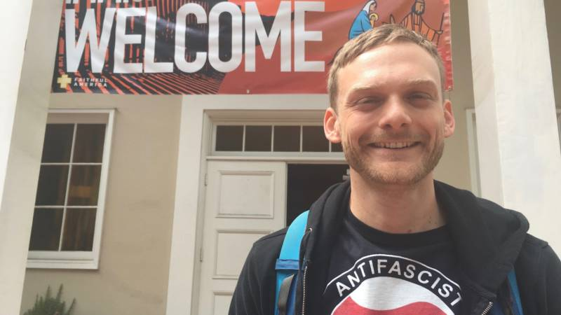 Gregory Stevens says he's headed to San Francisco next, in hopes of finding more kindred spirits in a more diverse community than he's found in Palo Alto.
