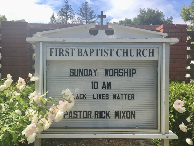 Social justice is a philosophical pillar of Rev. Rick Mixon's ministry at First Baptist. He says the gentrification of the neighborhood has forced deep reflection on what modern Christian ministry means in this economic environment.