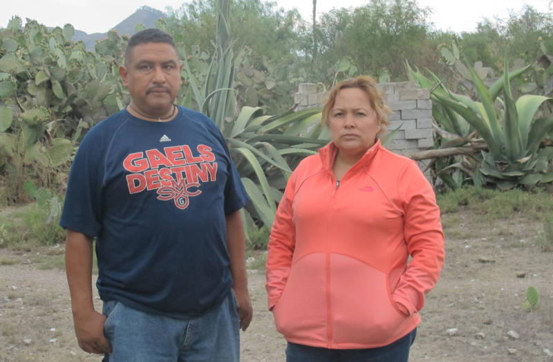 Eusebio Sanchez, 48, and Maria Mendoza, 47, grew up together in the Mexican state of Hidalgo and moved to Oakland, California, in their early 20s. They were deported to Mexico last August, leaving their four children behind in Oakland.