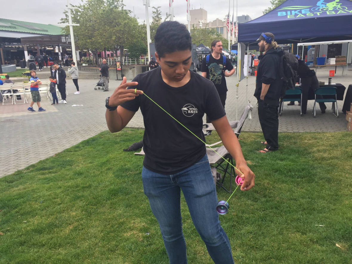PHOTOS: Tricks Fly High at Bay Area Classic Yo-Yo Competition in Oakland