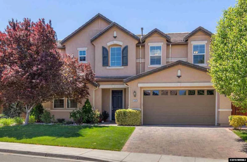 A five bed, three bath house in Reno is listed at $498,000.