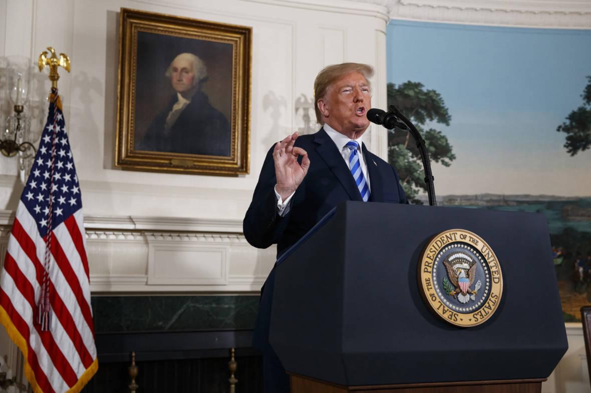 Trump: U.S. 'Will Withdraw' From Iran Nuclear Deal