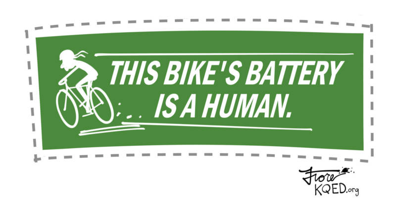 Bike Battery by Mark Fiore