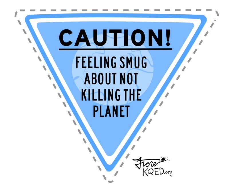 Feeling Smug by Mark Fiore