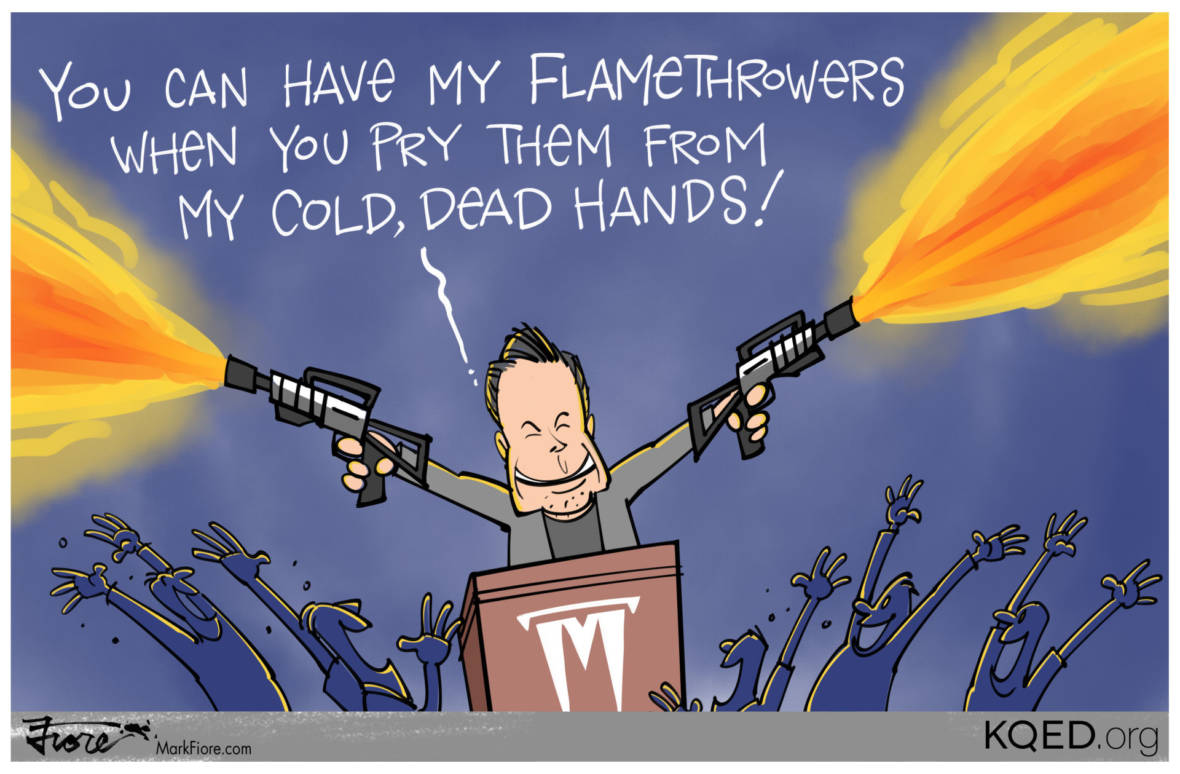 If Flamethrowers Are Outlawed . . .