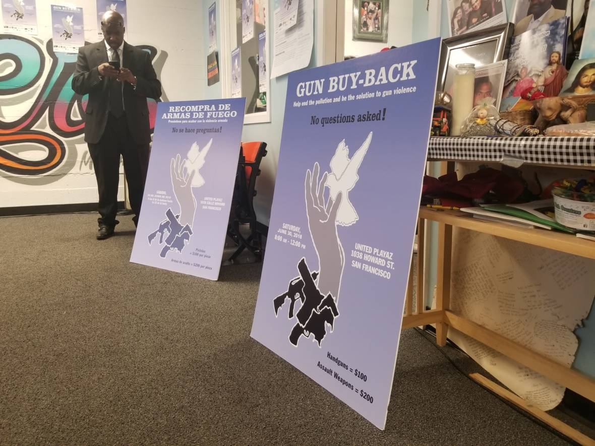 Community Group Partnering with Pot Dispensaries for Gun Buy-Back