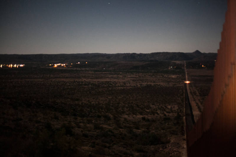The view of Tecate early morning on June 28, 2018.