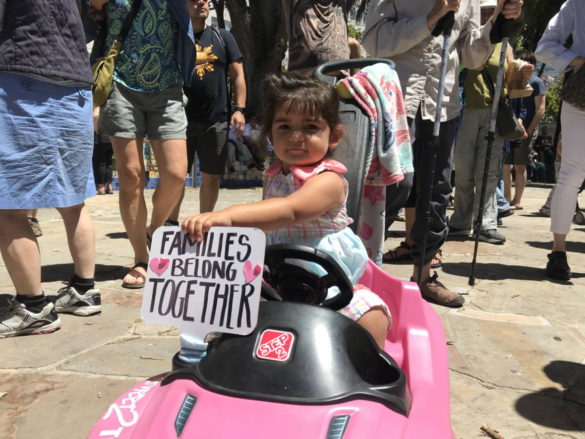 PHOTOS: Bay Area Cities Join Nationwide 'Families Belong Together' Marches