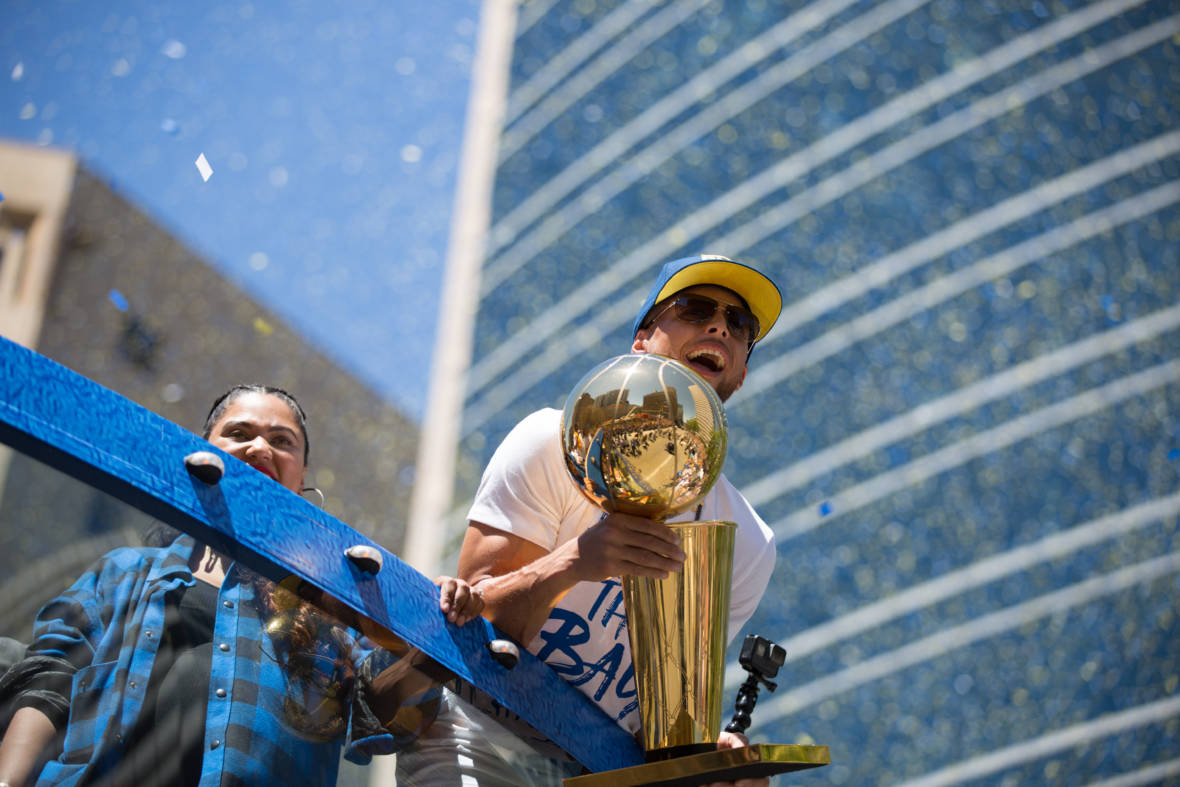 PHOTOS: Dub Nation Celebrates With Another Warriors Championship Parade