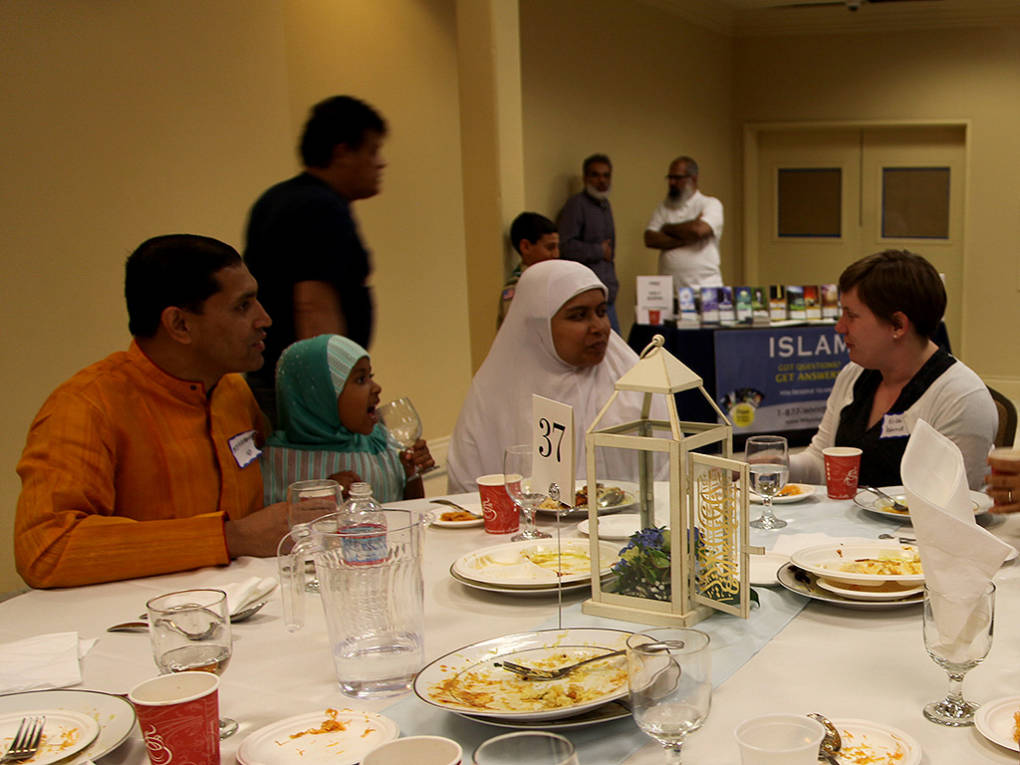 Food and Faith Shared at Ramadan Open House