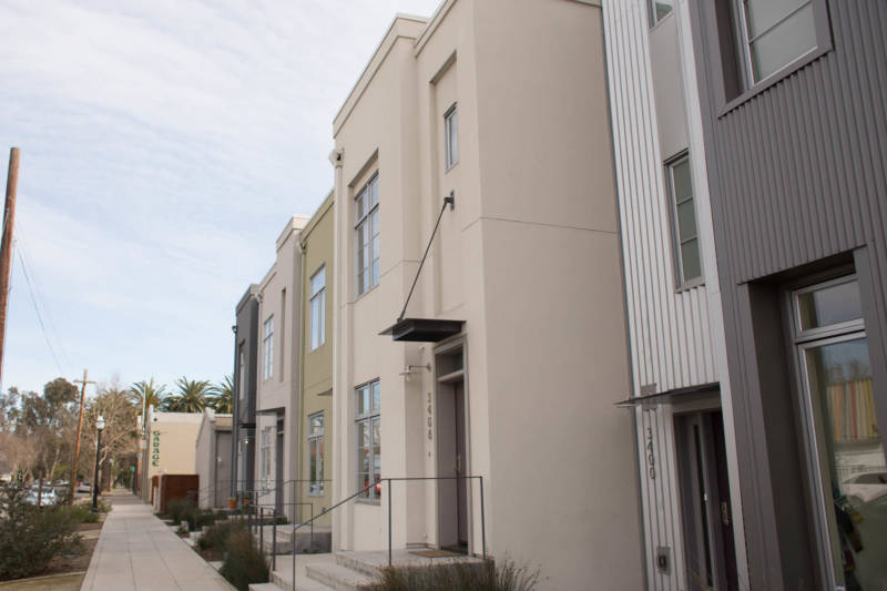 New condos are a common sight in Sacramento, where rents grew faster than anywhere in the country in 2017, according to the real estate site Apartment List. Rents also went up rapidly in cities across the state.